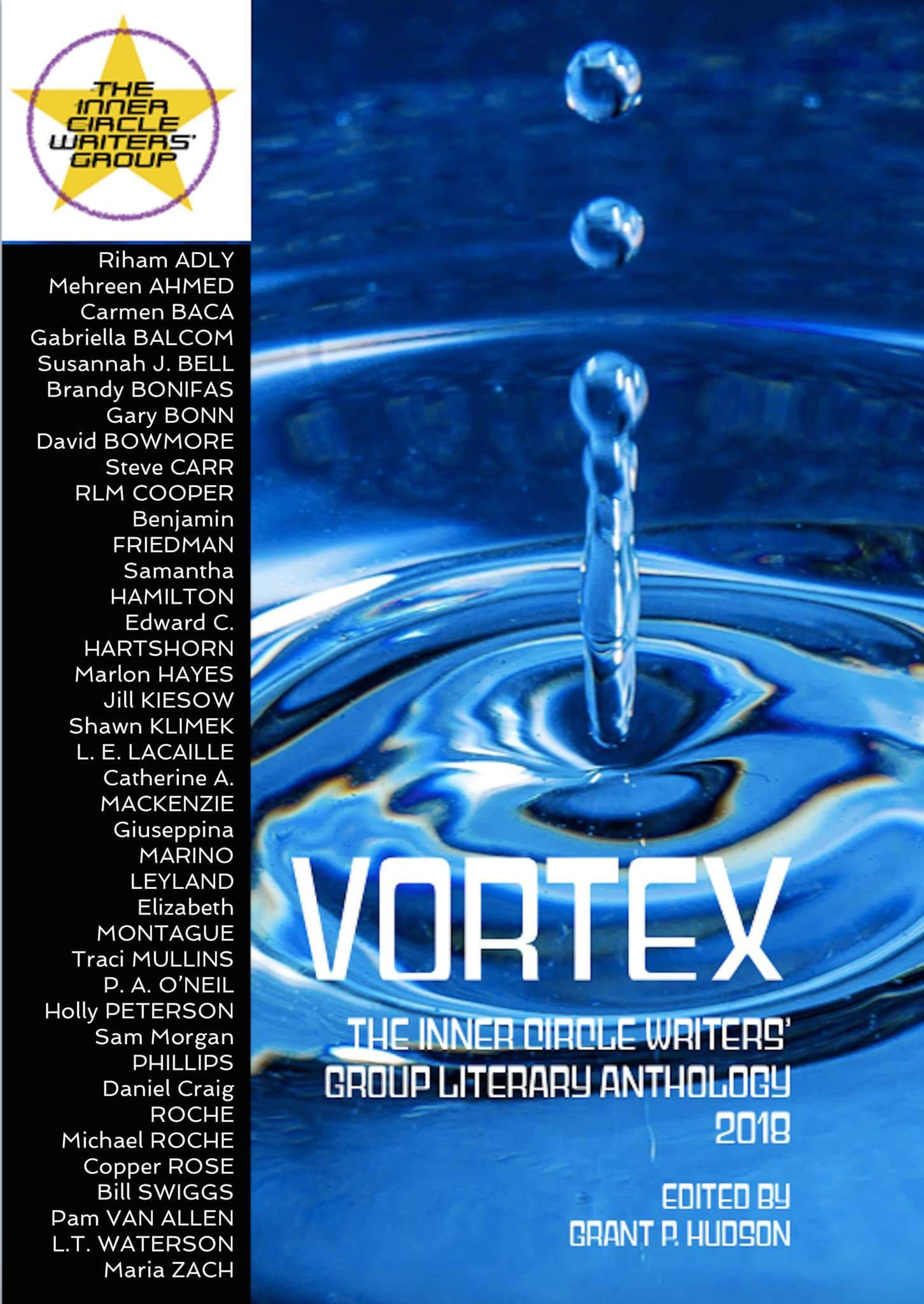 Vortex The Inner Circle Writers' Group Literary Anthology Cover